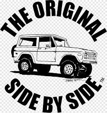 Ford Bronco Car Sport Utility Vehicle Decal Ford Logo Car Png Pngegg