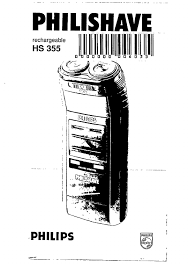 Manual Philips hs 355 tracer (page 1 of ...