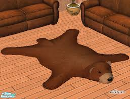 windkeeper s faux teddy bear skin rug