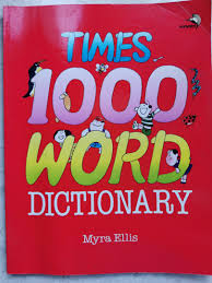 Times 1000 WORD Dictionary Myra Ellis, Books & Stationery, Children's Books  on Carousell