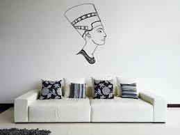 Ik899 Wall Decal Sticker Egyptian Queen Nefertiti Bedroom Stickersforlife