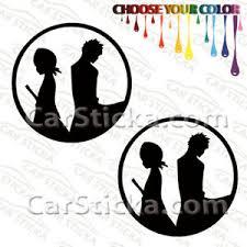 2 Of 5 Bleach Ichigo Rukia A Car Bumper Window Vinyl Stickers Decals Die Cut Ebay