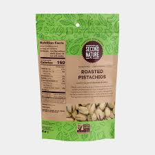 roasted pistachios second nature