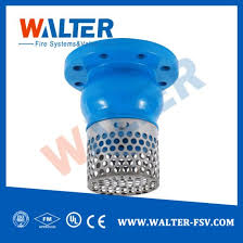 china d cast iron foot valve with