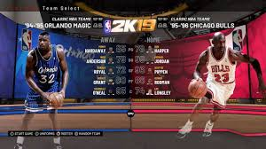 nba 2k19 every clic team in play