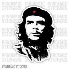 Che Guevara Revolution Sticker Car Decal Fridge Guitar Laptop Luggage Skateboard For Sale Online Ebay