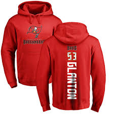 Top #53 Adarius Glanton Red Nike NFL Backer : Tampa Bay Buccaneers ...