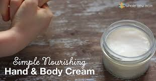 homemade lotion diy hand body cream
