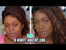makeup transformation black women
