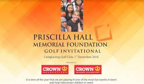Priscilla Hall Memorial Foundation Golf Day to Help Raise Money ...
