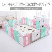 Baby Playpen Fence Indoor Palyground Park Kids Safe Guardrail Baby Gam Nector45