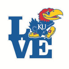 Kansas Jayhawks Gifts Stickers Magnets Ku Bookstore