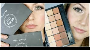 rcma makeup vk palette review demo