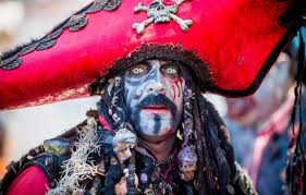 face makeup pirate costume male