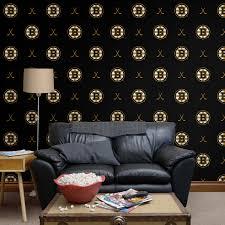 boston bruins sticks pattern black