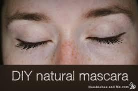 make your own natural clay mascara