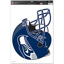 Seattle Seahawks Wincraft 11 X 17 Multi Use Helmet Decal