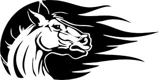 Horse Head Western Rodeo Cowgirl Car Truck Window Vinyl Decal Sticker