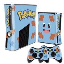 Skin Xbox 360 Slim Squirtle Pokémon - Acessórios Xbox One