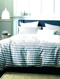 white striped queen comforter set