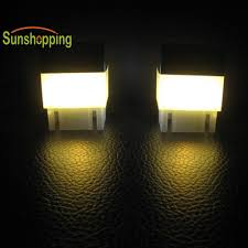 In Stock Durable Square Waterproof Led Solar Light Fence Post Pool Household Garden Lamp Warm White Outdoor Decoration Shopee Philippines