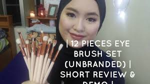 dupe zoeva 12 pieces brushes from