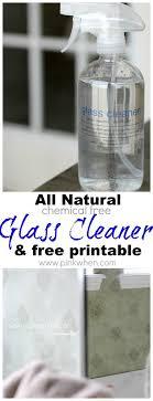 clean gas fireplace glass vinegar