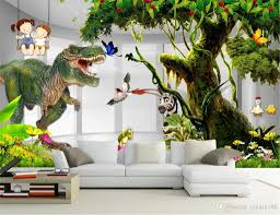 Comic Animal Low Price For Wallpaper 3d Dinosaur Big Tree Childrens Room Kids Room Background Wall Painting Silk Wallpaper Free Wallpaper For Desktop Free Wallpaper Hd From Yunlin188 9 85 Dhgate Com