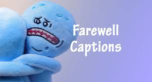 farewell captions best captions to say goodbye anycaption