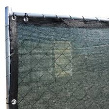 Fence4ever 92 In X 25 Ft Green Privacy Fence Screen Plastic Netting Mesh Fabric Cover With Reinforced Grommets For Garden Fence F4e G825fs A 90 The Home Depot