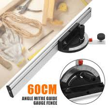 Table Saw Bandsaw Router Angle Miter Gauge Mitre Guide Fence Cut For Woodworking Ebay