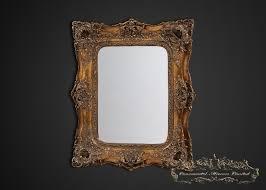 opulance gold rococo wall mirror