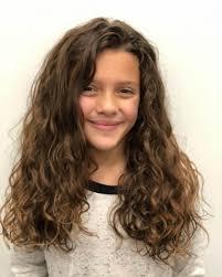 للشعر الكيرلي قصات شعر اطفال بنات كيرلي
