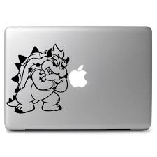 Mario Bothers Bowser Decal Laptop Decals Stickers Custom Sticker Shop