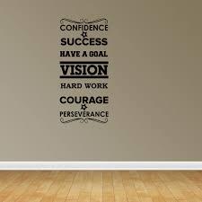 Success Word Collage Vinyl Wall Decals Inspirational Decal Office Decal Jp63 Walmart Com Walmart Com