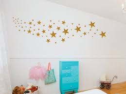 Gold Star Decals Different Star Wall Decals Nursery Wall Etsy