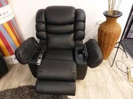 la z boy cool leather recliner massage
