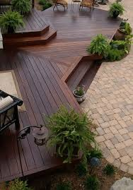 deck landscaping does not need a lot of