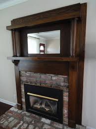this classic fireplace mantel