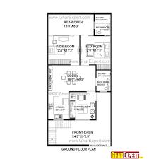 house plan 20 x 50 sq ft