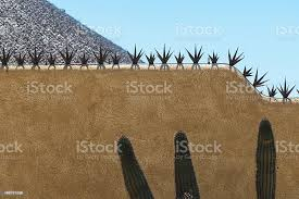 Spiked Concrete Wall Fence For Protection Stock Photo Download Image Now Istock