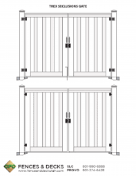Fence Plans Cfc Fences Decks
