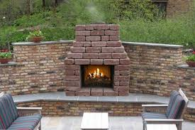 patio series outdoor fireplace