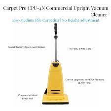 carpet pro cpu 4n mercial upright