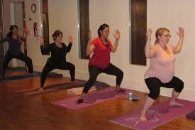 postnatal yoga teacher