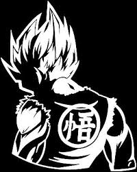 Dragon Ball Z Dbz Super Saiyan Goku Anime Car Truck Window Laptop Decal 4x4 Auto Parts And Vehicles Other Car Truck Decals Stickers Gantabi Com