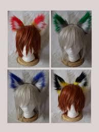 set of 4 hogwarts fluffy ears inspired