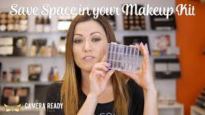 save e in your makeup kit