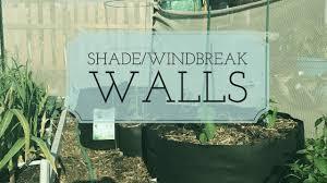 Building An Easy Diy Shade Windbreak Wall Youtube