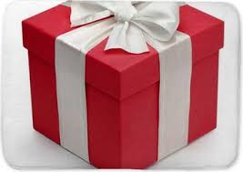 Red Gift Box With White Ribbon And Bow Poster Pixers We Live To Change